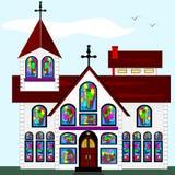 Big Church Royalty Free Stock Image