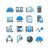 Big Data icon Stock Photo