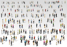 Big group of people Stock Photo