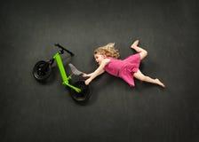 Bike jump Royalty Free Stock Images