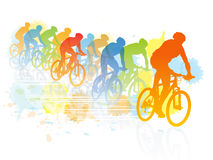Bike race Stock Images