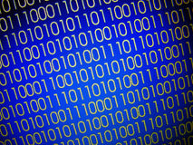 Binary Codes Royalty Free Stock Images