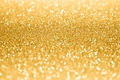 Gold Glitter Sparkle Confetti Background Royalty Free Stock Photo