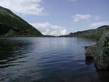 blått vatten Arkivfoto