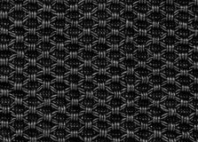 Black fabric texture regular pattern Stock Images