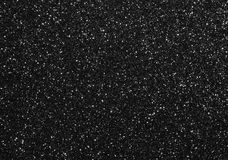 Black Glitter Background Stock Image