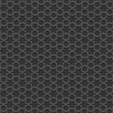 Black textured Islamic pattern Royalty Free Stock Images