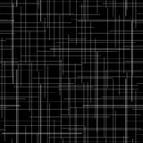 Black and white abstract backdrop. Plaid Fabric texture. Random lines. Stock Images