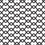 Black-and-white seamless pattern Royalty Free Stock Image