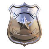 Blank badge Royalty Free Stock Images