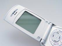 blank skärm för celltelefon Royaltyfri Foto