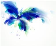 blauer Schmetterling Stockfoto