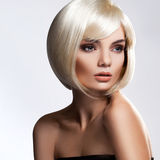 Blonde Hair. High quality image. Stock Image