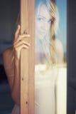 Blonde in the sun Stock Photos