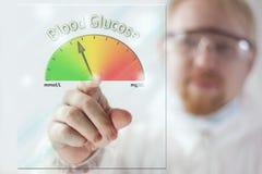 Blood Glucose Level Royalty Free Stock Photo