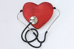 Blood pressure care Royalty Free Stock Image