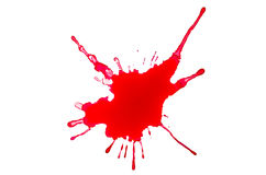 A blood splash Royalty Free Stock Images