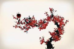 Blossom painting Stock Photo