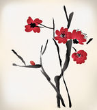 Blossom painting Royalty Free Stock Photography