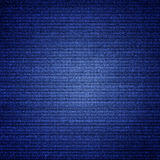 Blue canvas texture abstract  background with vignette Stock Photos