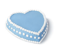 Blue decorated cake Stock Photos