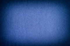 Blue felt background with vignette Stock Photography