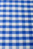 Blue gingham Royalty Free Stock Photo