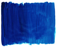 Blue paint texture Royalty Free Stock Images