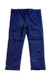 Blue pants Stock Photography