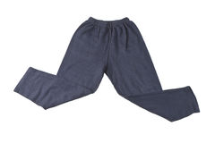 Blue pants Stock Images
