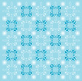 Blue Pattern Background Stock Photo