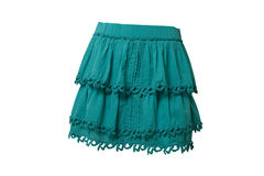 Blue skirt Royalty Free Stock Photo