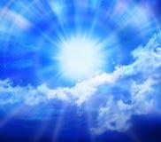 Blue Sky Sun Clouds Stock Photos