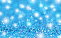 Cyan Stars Background Royalty Free Stock Photo