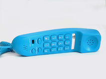 Blue Telephone Royalty Free Stock Photography