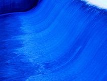 Blue Waterfall Royalty Free Stock Photography