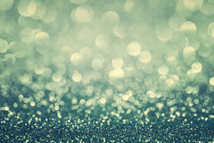 Bluen blänker julbakgrund Royaltyfria Bilder