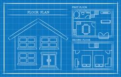 Blueprint, House Plan, Architecture Royalty Free Stock Photo