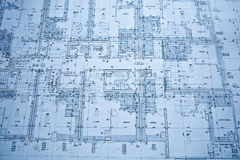 Blueprints Stock Photos