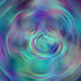Blur abstract background with circle whirl elements in blue, purple, turquoise, red Royalty Free Stock Photography