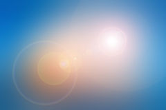 Blurry backgrounds with lens flare Stock Photos