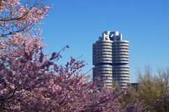BMW Headquarters Munich Germany Royalty Free Stock Images