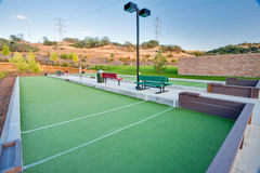 Bocce Ball Courts Royalty Free Stock Image