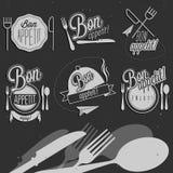 Bon Appetit! Enjoy your meal! Royalty Free Stock Photo
