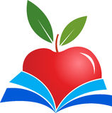 Book apple Stock Images