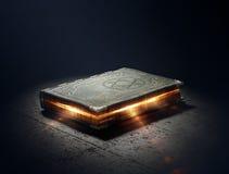 Book with magic powers Stock Photos