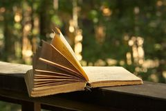 Book of poetry Stock Image