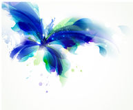 borboleta azul Foto de Stock