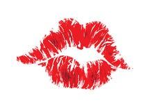 Bordos do beijo Fotografia de Stock