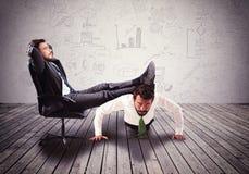 Boss mobbing Stock Images